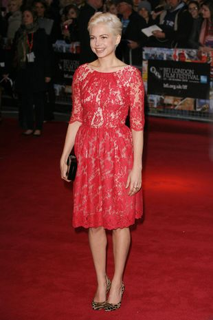 Michelle Williams w sukience Erdem