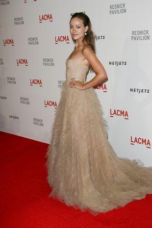 Olivia Wilde w olśniewającej sukni Monique Lhuillier