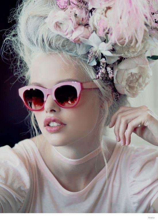 Okulary od Wildfox inspirowane Marią Antoniną (FOTO)