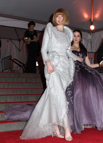 Kosmiczna suknia Anny Wintour