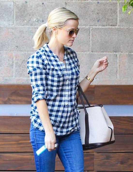 Reese Witherspoon w swoich ulubionych jeansach (FOTO)