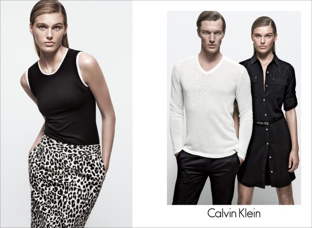 Madison Headrick w kampanii Calvin Klein White Label