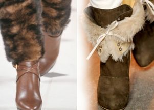 Trend na jesień: futrzane buty