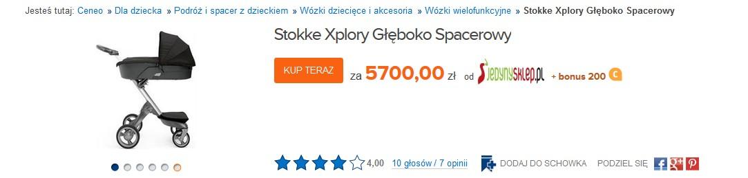 Zosia Ślotała pochwaliła się bardzo drogim wózkiem (FOTO)