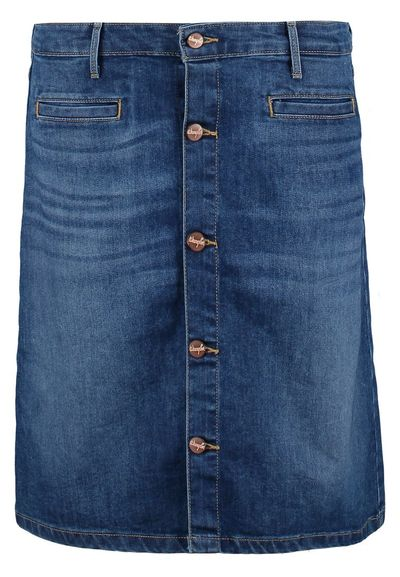 Jeansowe spódnice w kilku stylach na wiosnę 2016