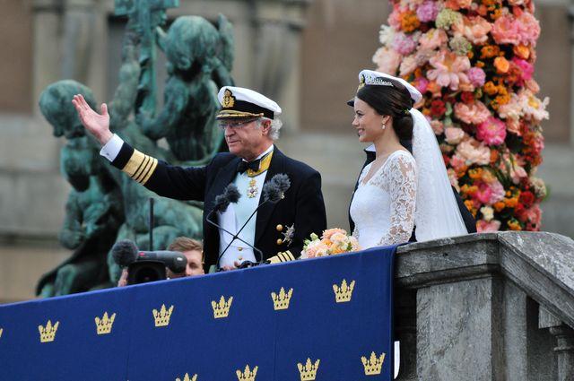 Szwedzki książę Karol Filip i Sofia Hellqvist już po ślubie!