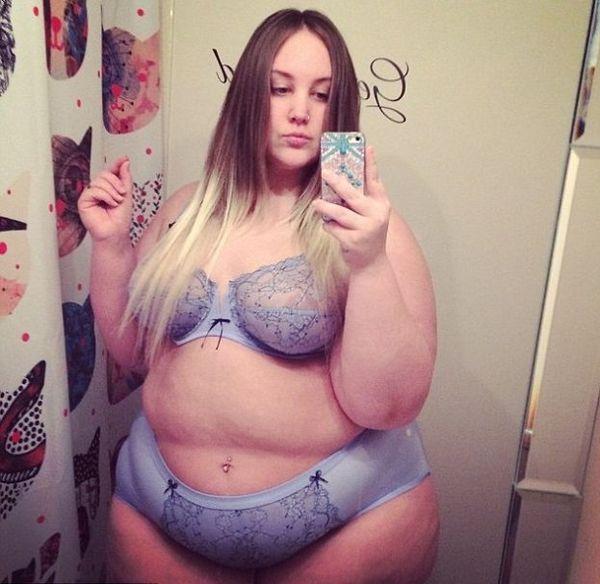 Skandal! Blogerka XXL pokazała zdjęcia w samej bieliźnie