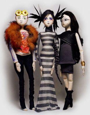 Lalki zainspirowane modą