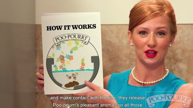 Jak zamienić zapachy toalety w przyjemniejsze wonie (VIDEO)