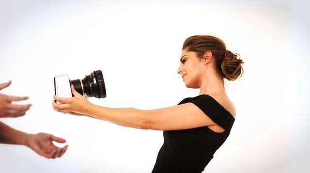 Cheryl Cole bez makijażu w kampanii L'Oreal Paris