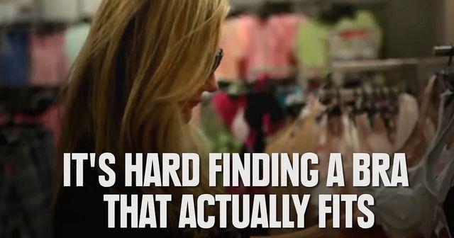 Masz duży biust? Pewnie znasz te problemy... (VIDEO)