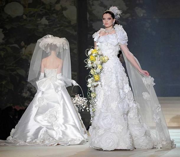 Oto 10 najdroższych sukni ślubnych na świecie