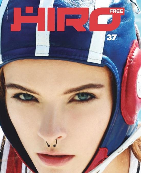 Zuzanna Kołodziejczyk na okładce magazynu HIRO
