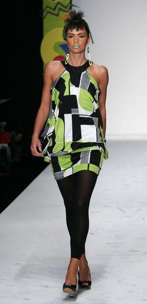 trendy, pokazy mody, fotki, wiosna lato 2008, mercedes benz fashion week