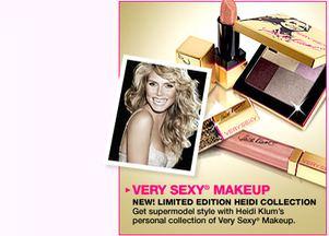 Very Sexy MakeUp - Heidi Klum