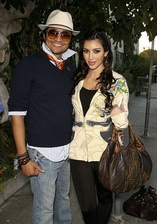 Kim Kardashian z Fendi Spy Bag