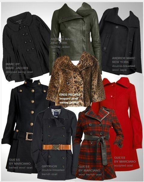 płaszcze, okrycia, ubrania, trendy, moda