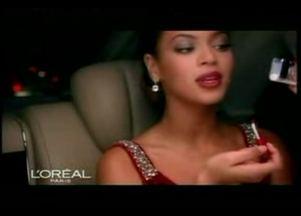 Beyonce reklamuje nową szminkę L'Oréal