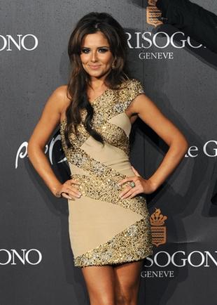 Cheryl Cole w sukience od Elie Saab