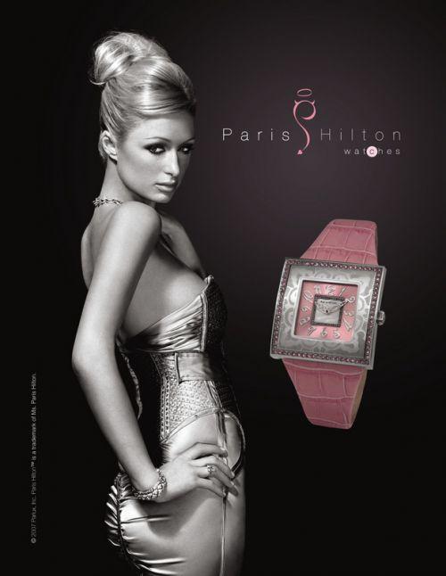 Paris Hilton wchodzi w zegarki