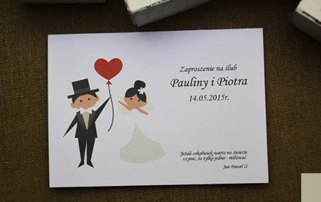 Modne propozycje zaproszeń ślubnych na 2018 rok