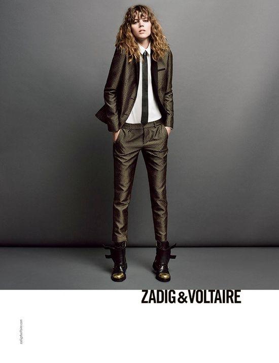 Freja Beha Erichsen w najnowszej kampanii Zadig & Voltaire