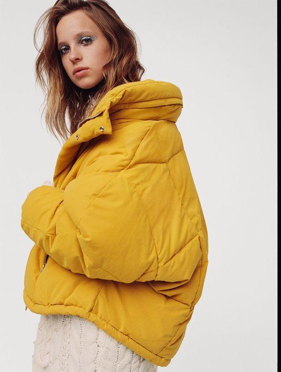 Zara Warm and Puffy - Ciepłe, modne pikowane kurtki na jesień 2017