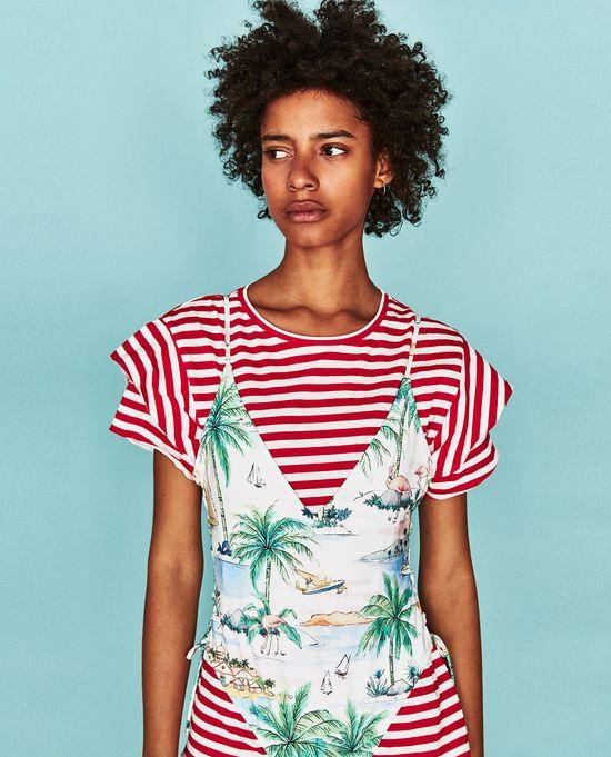 Zara Swimwear - Nowa odsłona kolekcji strojów kąpielowych na lato 2017