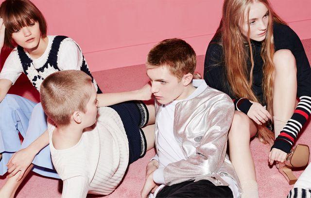 Młodzieżowa kampania na wiosne i lato Zara TRF