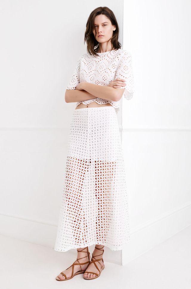 Zara Trends White - Nowy trend w wiosennej kolekcji sieci