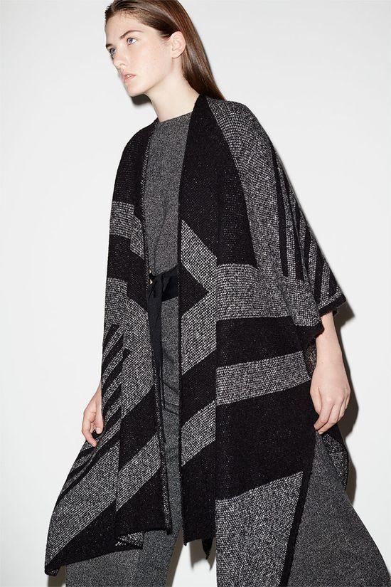 Zara Knitwear All Over - Ciepłe dzieniny i stonowane kolory