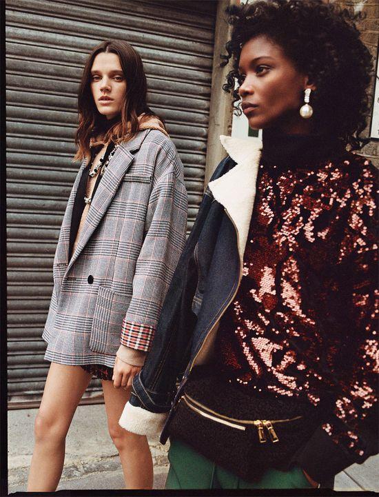 Zara TRF A New Routine - Młodzieżowy styl retro na zimę 2017