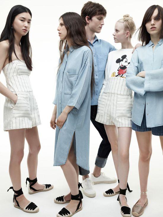 Zara TRF I am denim 3 - Młodzieżowa jeansowa kolekcji na lato 2016