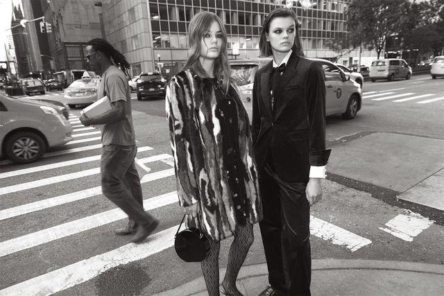 Zara Mid-Town Warm Up - Moda w stylu lat 70., ciepłe płaszcze i kwiato