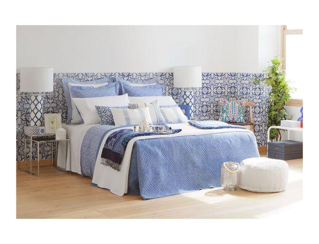 Zara Home - Inspiracja w odcieniach bieli i błękitu (FOTO)