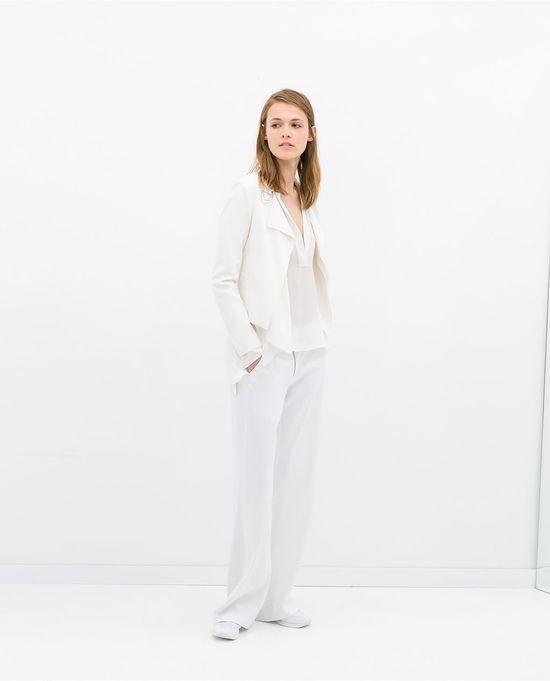 Biel w wiosennych nowościach Zara (FOTO)