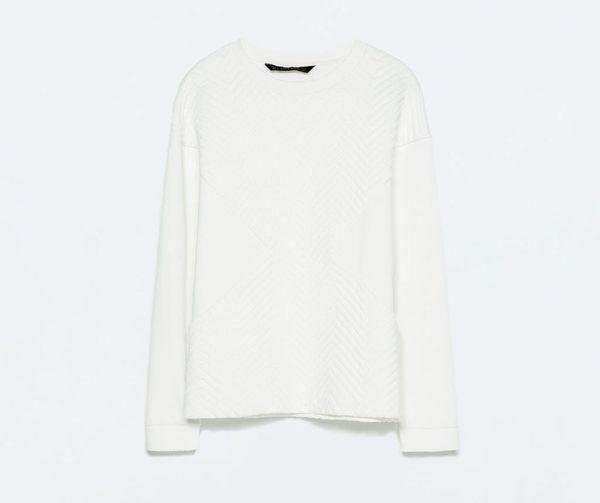 H&M, Mango, Zara... - wiosenny przegląd bluz bez kaptura