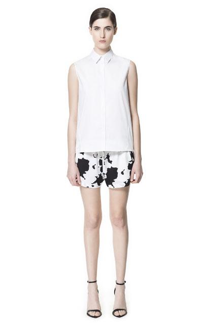 Zara – przegląd szortów lato 2013