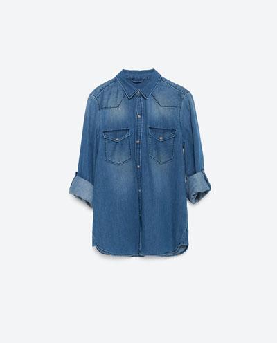 Koszula Jeansowa - Jesienny przegląd hitów z sieciówek