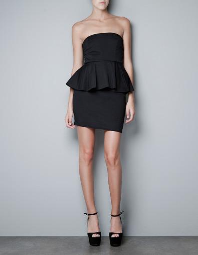 Przegląd sukienek Zara jesień 2012