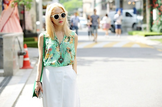 Zara People uliczne stylizacje czerwiec 2013