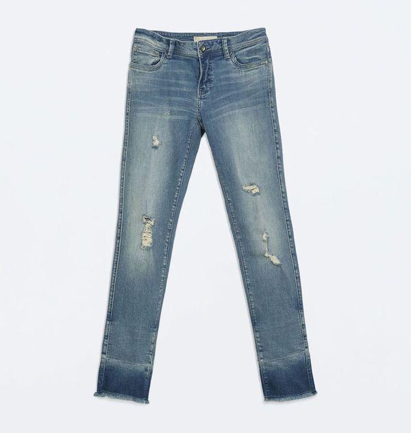 Przegląd jesiennych trendów - podarte jeansy (FOTO)