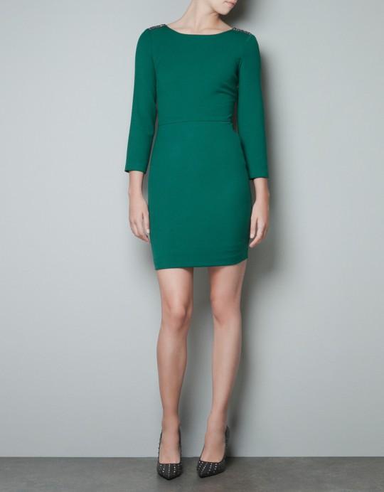 Przegląd sukienek Zara jesień-zima 2012/2013