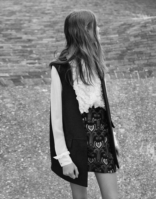Zara TRF - Młodzieżowa kolekcja w jesiennej kampanii sieci