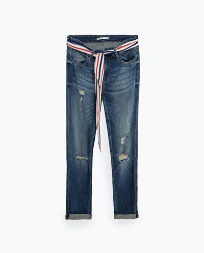 Jeansy boyfriendy - Modne jeansy na wiosnę 2016
