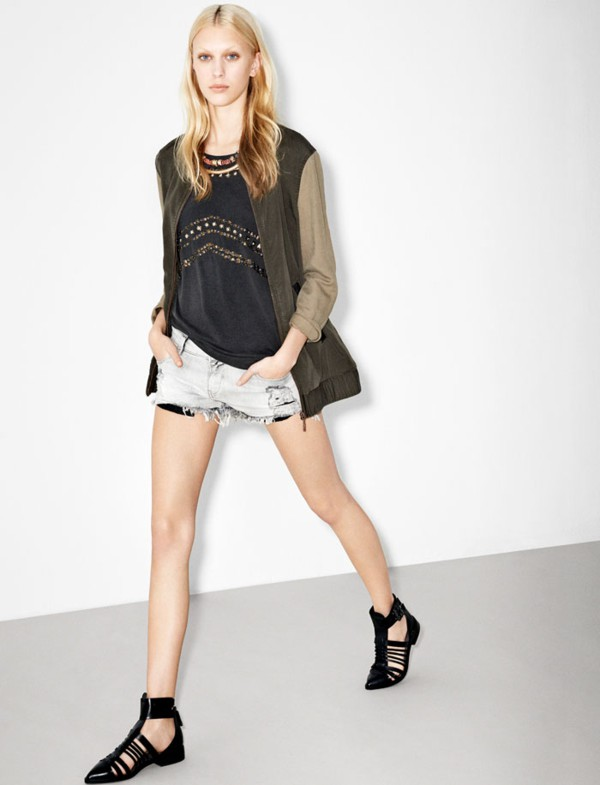 Zara lookbook luty 2013