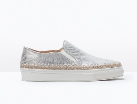 Trampki i inne buty sportowe w srebrze i złocie