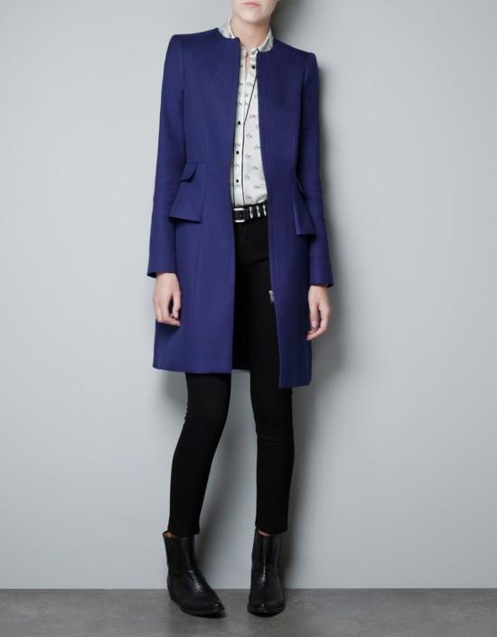 Zara – klasyczne płaszcze z wyprzedaży