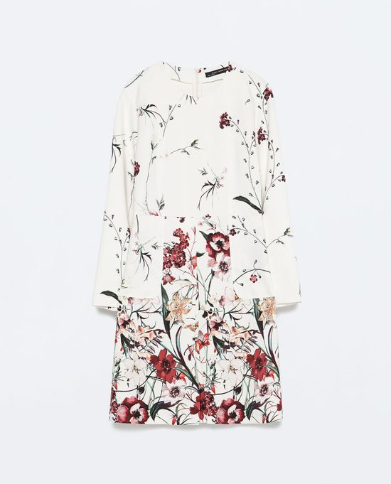 Modne na wiosnę - Przegląd ubrań w kwiaty (FOTO)