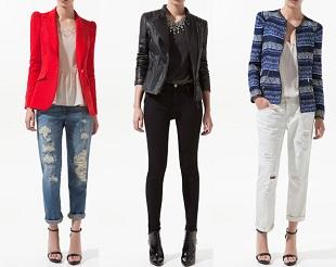 Marynarki i kurtki marki Zara jesień 2012